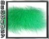 Franky's Green Fuzzy Rug