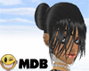 ~MDB~ BLACK SYNTHIA HAIR