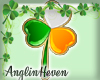 *A* Irish Clover Sticker
