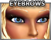 Thin Blonde Eyebrows