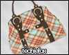 Fox| Plaid Designer Bag