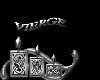 sticker vierge metal
