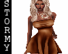 Sexy Brown Dress - TXM