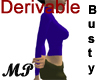 MP Derivable Busty Top