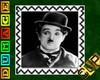 Stamp Charlie Chaplin