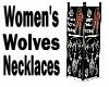 Women's Woles Necklaces