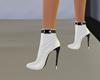 half boots ~ white