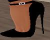 BLack Sexy Heels Shoes