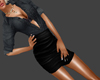 ^EMZ^ black Mini outfit