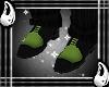 (I) Black Green Shoes