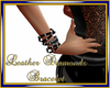 Leather Diamonds Brace L