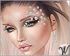 Jewelry Face Gems Ariel