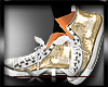 *V*D&G Sneakers Gold