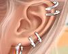 ✨ Icy Cuff Earrings