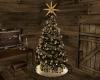 CD Cabin Christmas Tree