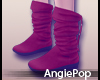 ♈ Snow Boots Red