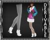 Chunky Heel Furry Boots