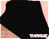 T | Black Spandex Shorts
