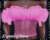 *Lily Pink Lace Top