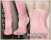 [Is] Fall Pink Boots
