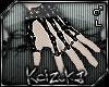 !PVC Skeleton Hand (L) M