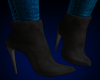 Eve Suede Boots BLACK