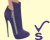 VS - Zip Boots Purple