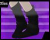 |Xios| Black Socks