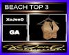 BEACH TOP 3
