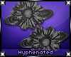 {-} Flower Power | Black