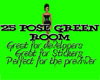 Green Room with 25 poses