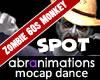 Zombie 60s Monkey Spot