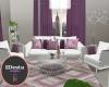 OMO purple modern  rug
