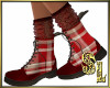 *Vintage Red Boots
