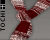 #T Scarf #Xmas Red