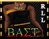 BAST Overall-Dress B&Gld