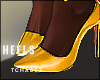 T!Yellow pumps
