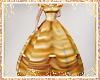 belles golden gown