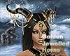 Golden Jewelled Horns