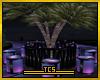 Tropical round bar table