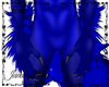 Blue Plushy Demon Kini