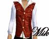 !!Mik!Leather vest&shirt