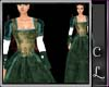 Boleyn Gown Green