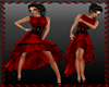Spain Red/Black Dress