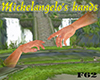 Michelangelo's hands