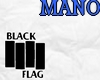 !M: Black Flag V Neck