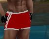 [MJ] Male Red Swim Short