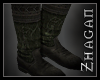 "[Z] ""Elric"" Boot brn/grn"