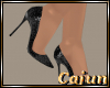 Onyx Shimmer Pumps