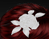 White Rose Hairpiece
